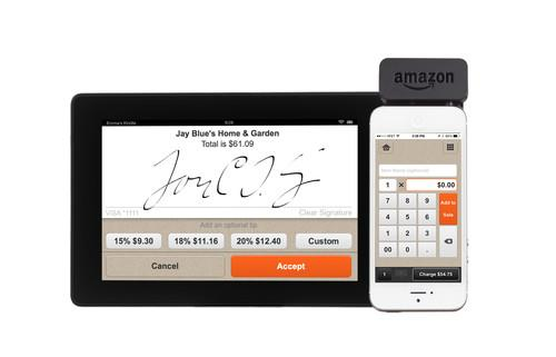 Amazon takes aim at Square with Local Register