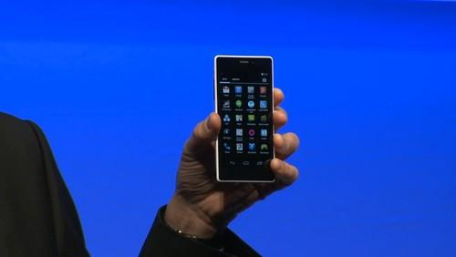 Intel showing 64-bit Android on smartphone with company's new Atom chip code-named Merrifield