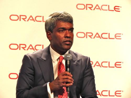 Thomas Kurian, executive vice president of product development for Oracle, discusses the company's cloud strategy at OpenWorld 2013.