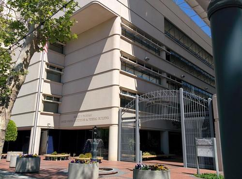The federal court building in San Jose, California, on April 7, 2014