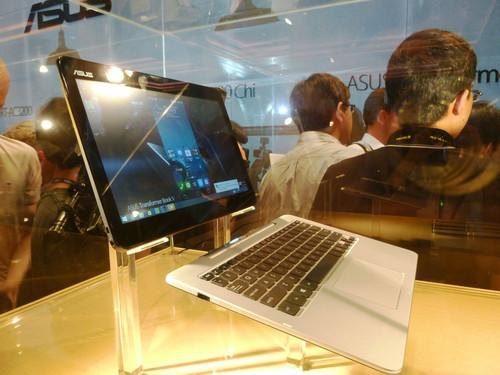 The Asus Transformer Book V on show at Computex 2014 on June 2, 2014