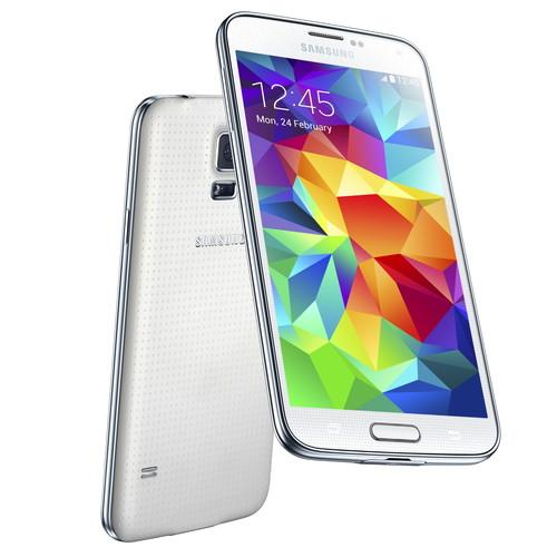 Galaxy S5 in white