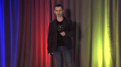 Paul Eremenko, head of Project Ara, speaks at a developer event in Mountain View on April 15, 2014. (Webcast screengrab)