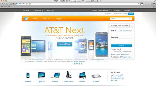The website of a Syrian telecommunications provider redirected to AT&T's website and then T-Mobile's on Wednesday, an apparent prank by a hacker who has been probing the country's internet infrastructure for several days.