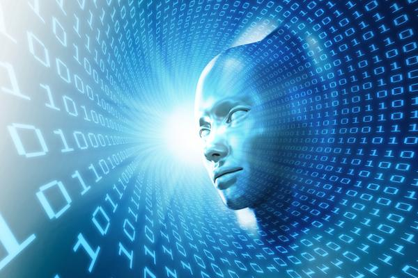 Artificial intelligence concept illustration  An artificial intelligence concept illustration.  abstract, android, artificial, binary, blue, brain, cell, communication, computer, concept, connection, creative, cyber, cybernetic, cyberspace, cyborg, data, digit, digital, fantasy, fiction, future, futuristic, fuzzy, head, human, idea, illustration, imagination, informatics, information, dreamstime  dreamstime_29416761