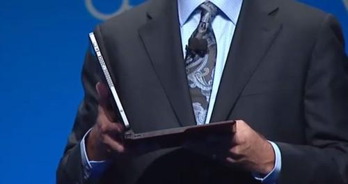 Intel's wire-free laptop, screen capture