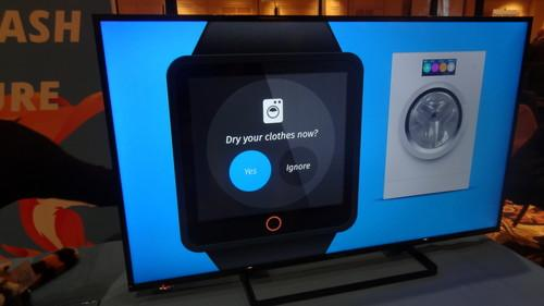Firefox OS for wearable concept on screen