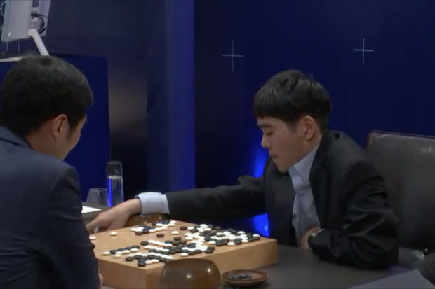 AlphaGo beat Lee Se-dol in three of five games of the match that have been played