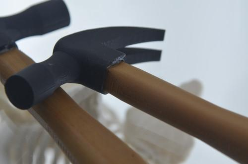 MakerBot's 3D printed hammer