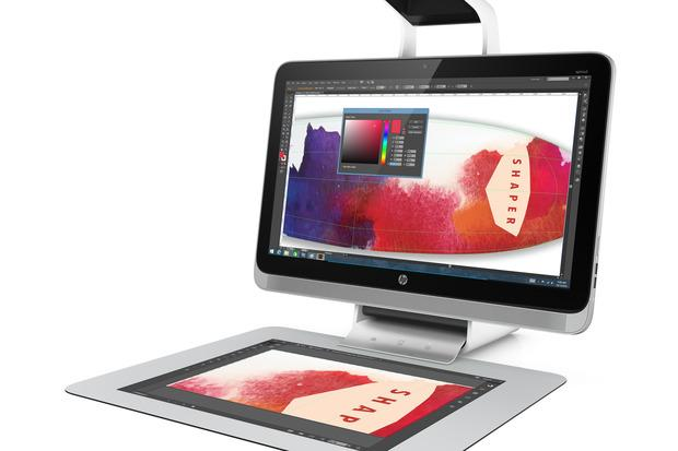 HP's Sprout Pro can be used for 3D image creation and manipulation. Credit: HP