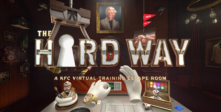 KFC Employees Can Fry Chicken in Virtual Reality
