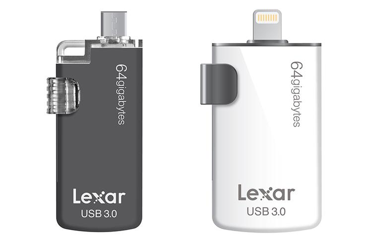 The Lexar JumpDrive M20c and JumpDrive M20i