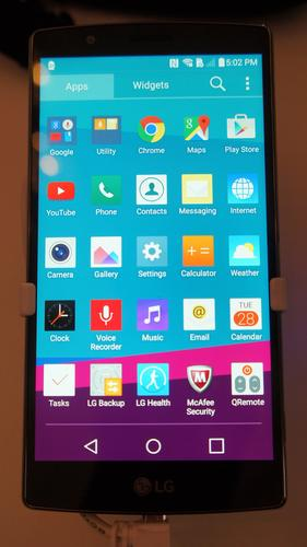 The LG G4 has an improved 5.5-inch screen