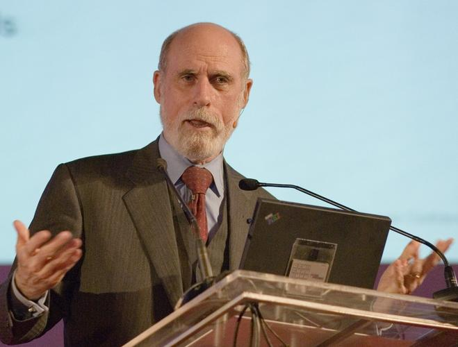 "Vint Cerf, known as ""the father of the Internet"", supports the Web 3.0 concept"