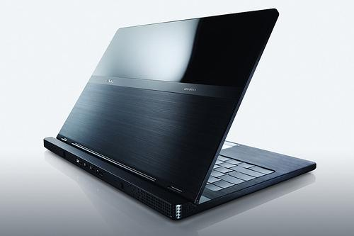 Dell's Adamo notebook.