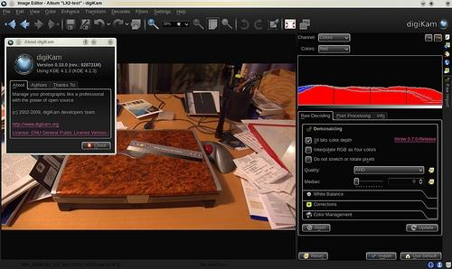 Free photo manager digiKam reaches 0.10.0 release for KDE4 and Windows