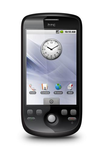 HTC Magic, powered by Google's Android operating system
