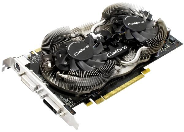 Sparkle graphics card with Calibre Dual Fly Cooling System