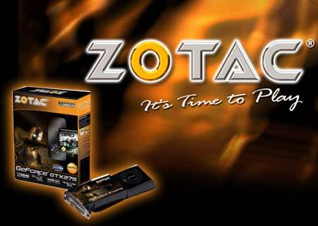 Zotac graphic cards to come bundled with trials of Badaboom Media Converter, vReveal, Super LoiLoScope Venus and BitDefender's Internet Security.