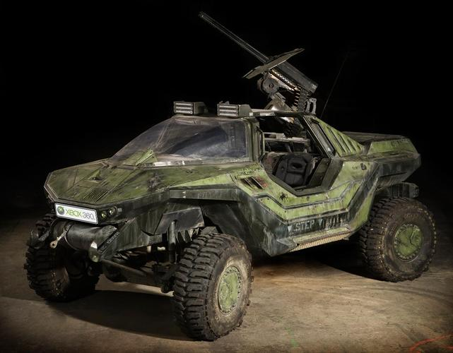 See the Halo Warthog replica at Cockatoo Island next weekend.