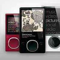 Microsoft Zune media players.