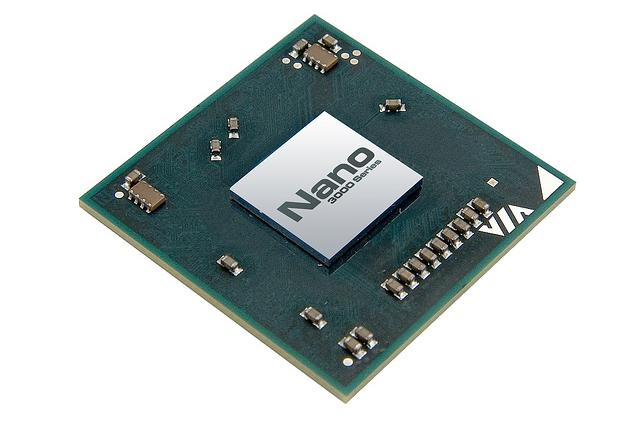 A new Nano 3000 series processor from Via. The chips, Via's fastest netbook processors to date, are 20 percent faster than their predecessors, and use up to 20 percent less power, the company said. The chips run at speeds between 1.0GHz and 2.0GHz, and support Windows 7 and Linux operating systems.
