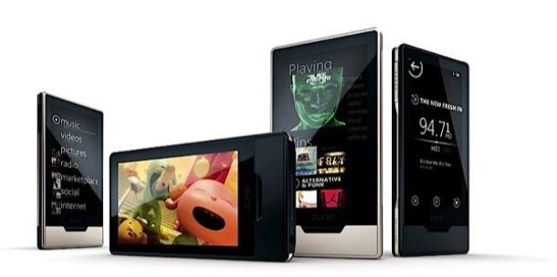 The Microsoft Zune HD