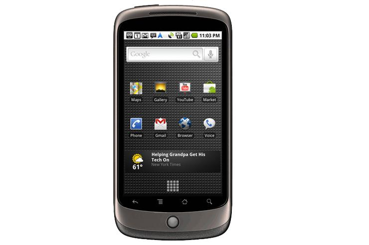 Google's Nexus One phone