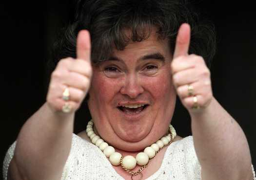 Susan Boyle not included