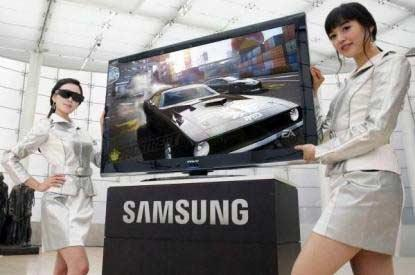 Samsung is the first manufacturer to release 3D televisions to the Australian market.