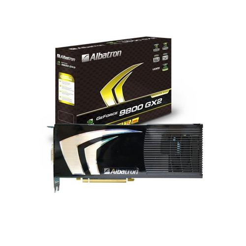 Albatron-branded Nvidia graphics card.