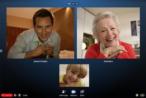 Skype now offers group video calling