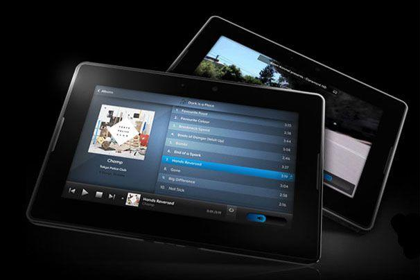 RIM's BlackBerry PlayBook tablet.