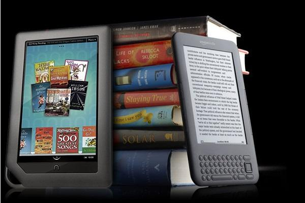 NookColor vs. Kindle 3