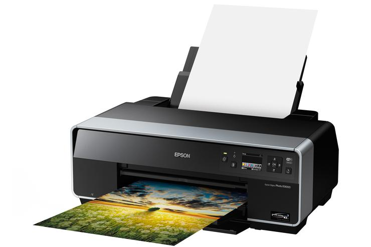 The Epson Stylus Photo R3000.