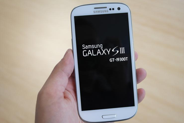 We go hands-on with the Samsung Galaxy S III