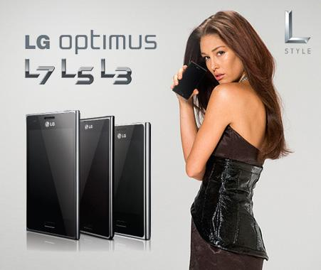 Erin McNaught is the face of LG's new campaign to market the L-Style range of Android smartphones. <i>(Image credit: LG)</i>