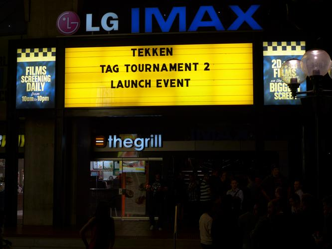Namco Bandai Partners (NBP) and IGN welcomed gamers to the Tekken Tag Tournament 2 launch party. The event took place at Sydney's IMAX theatre in Darling Harbour on Tuesday, September 11.