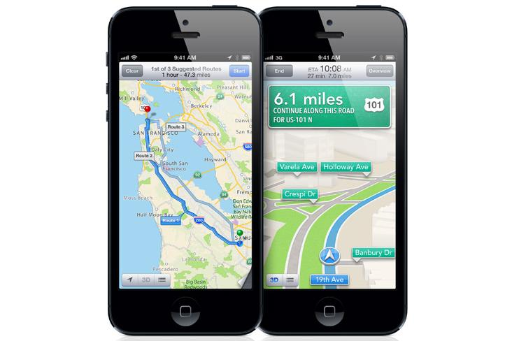 Turn-by-turn navigation in Apple's Maps app in iOS 6 will be available in Australia next month.