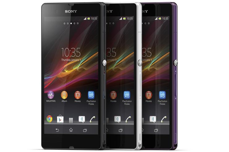 The Sony Xperia Z.