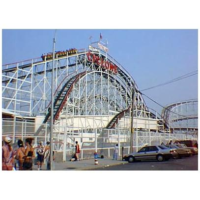 Coney Island's Cyclone roller coaster