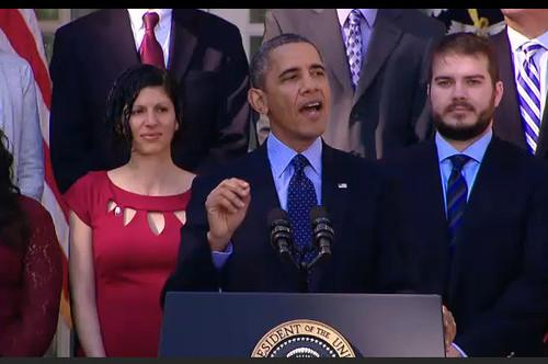 U.S. President Barack Obama promises Monday that the ailing HealthCare.gov will be fixed.