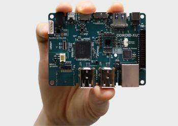 Hardkernel's Odroid-XU motherboard with Samsung's eight-core chip