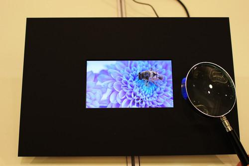 Sharp recently showed off a prototype 5.5-inch display with 4K resolution that could be used in smartphones.