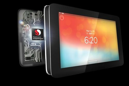 Qualcomm Snapdragon chip in tablet