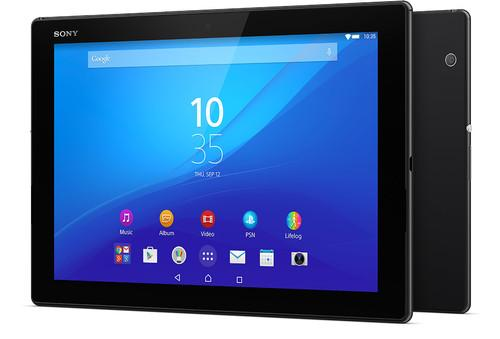 Sony Xperia Z4 tablet with Qualcomm Snapdragon chip