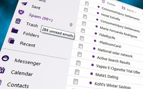 Spam has fallen to less than 50 percent of all email for the first time in a decade, Symantec said.