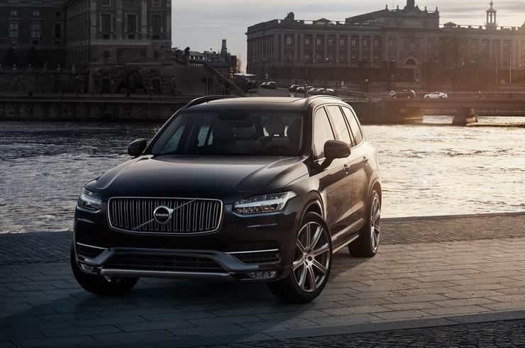 Modified Volvo XC90s are being used for the South Australian test drives.