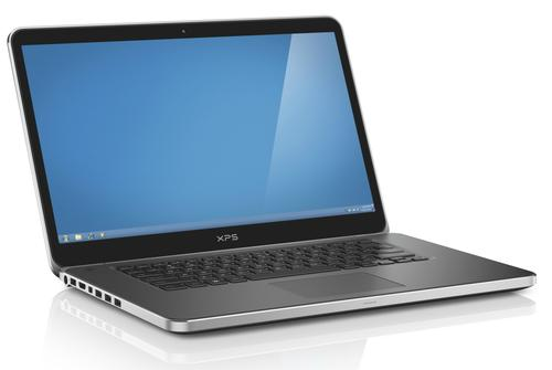 The XPS15 is a more normal-looking laptop, albeit with a 4K display.