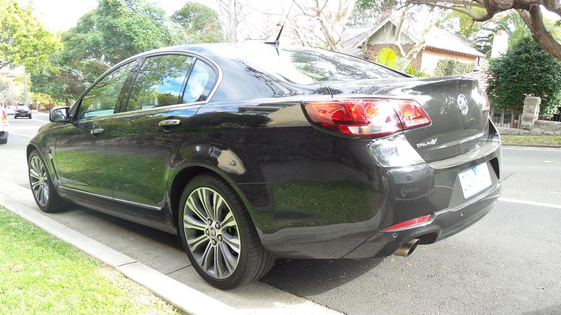 A first look at the Holden VF Calais